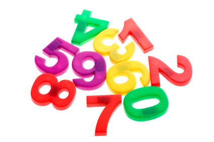 Jumbled Numbers Jumbled Numbers Clipart